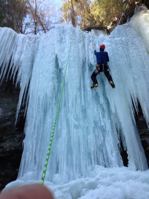 2012 2013 Pennsylvania Ice Climbing Conditions